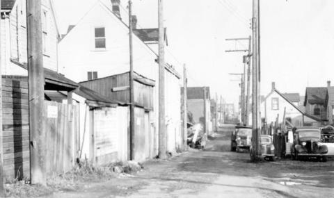 Hogan's alley, 1958